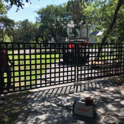 swing gate 7